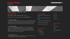 Stripes Theme Blogger Template