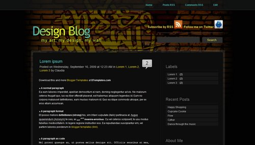 24 Best Templates and Themes for Blogger BlogSpot
