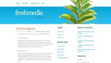 Freshmedia Blogger Template