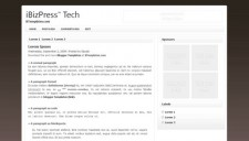 iBizPress Blogger Template