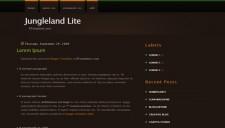 Jungleland Lite Blogger Template