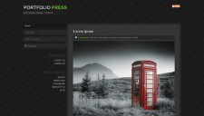 Portfolio Press Blogger Template