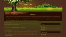Magic Tree Blogger Template