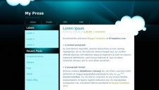 My Press Blogger Template