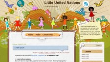 Little United Nations Blogger Template