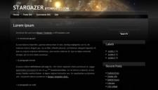 Stargazer Blogger Template