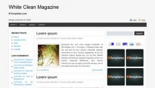 free template magazine keren