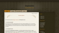 Impressoes Blogger Template