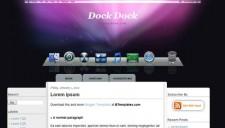 Dock Dock Blogger Template