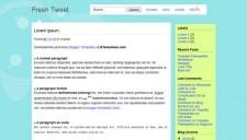 Fresh Tweet Blogger Template