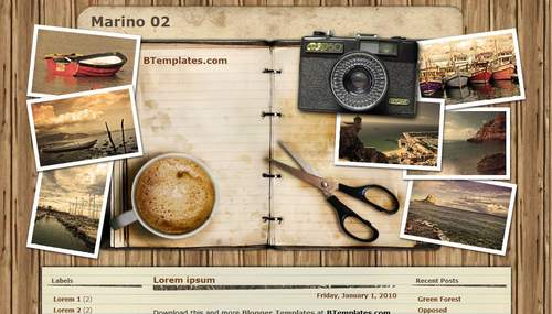 Marino 02 blogger template btemplates pronofoot35fo Images