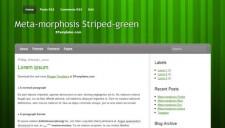 Meta-morphosis Green Blogger Template
