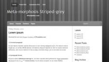 Meta-morphosis Grey Blogger Template