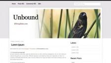 Unbound Blogger Template