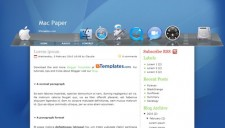 Mac Paper Blogger Template