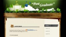 Post Graduate Blogger Template