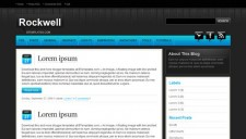 Rockwell Blogger Template