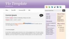 Vio Blogger Template