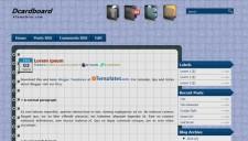 Dcardboard Blogger Template