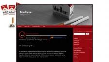 Marlboro Blogger Template