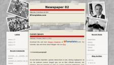 Newspaper 02 Blogger Template