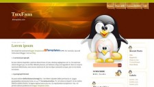 TuxFam Blogger Template