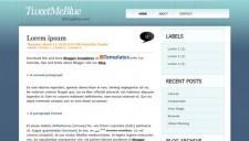 TweetMeBlue Blogger Template
