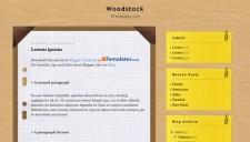 Woodstock Blogger Template
