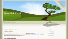 Beautiful World Blogger Template