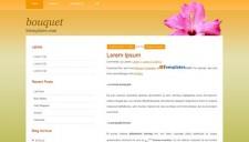 Bouquet Blogger Template