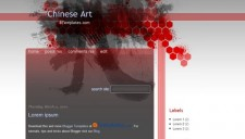 Chinese Art Blogger Template
