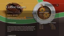 Coffee Gears Blogger Template