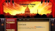 Coliseum Fever Blogger Template