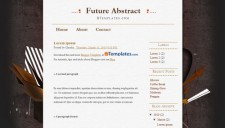 Future Abstract Blogger Template