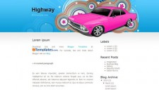 Highway Blogger Template