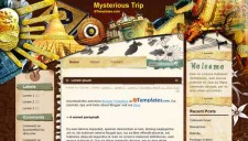 Mysterious Trip Blogger Template