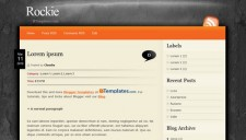 Rockie Blogger Template