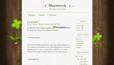 Shamrock Blogger Template