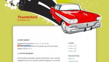 Thunderbird Blogger Template