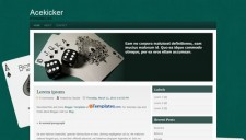 Acekicker Blogger Template