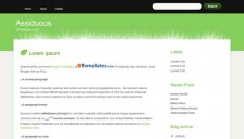 Assiduous Blogger Template