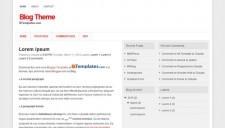 Blog Theme Blogger Template