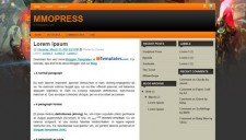 MMOPress Blogger Template