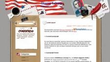 Obama Talking Blogger Template