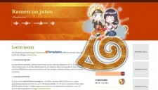 Ramen no jutsu Blogger Template