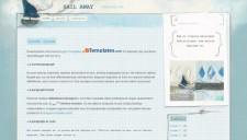 Sail Away Blogger Template