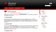 Stardust Blogger Template
