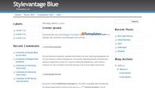 Stylevantage Blue Blogger Template