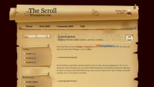 The Scroll Blogger Template