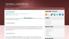 Vermillionpress Blogger Template